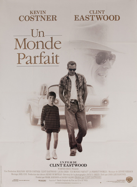 A Perfect World Original French Release Movie Poster