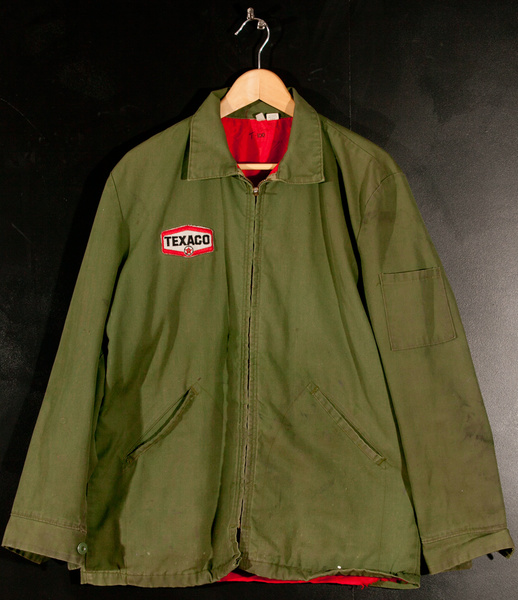 Texaco Gas Station, Men's Jacket