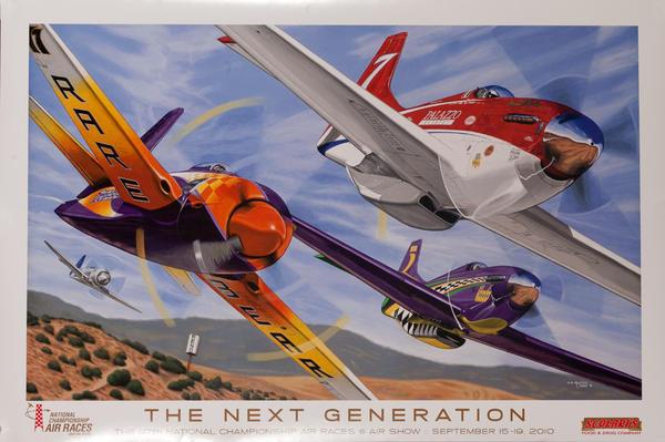 The Next Generation, Reno National Air Races, Original Poster