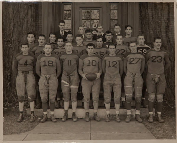 High School Football Team Poster
