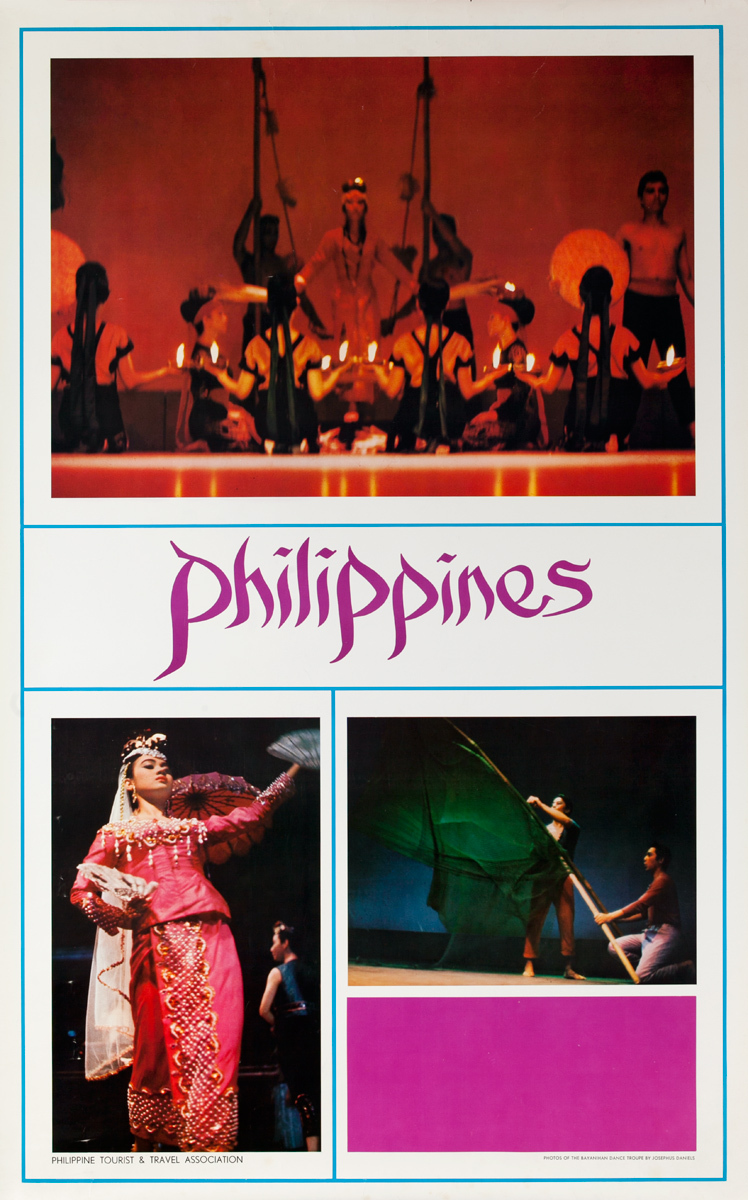 Philippines Travel Poster, Theater