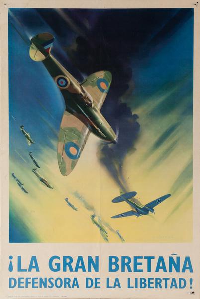 La Gran Bretaña, Defensora de la Libertad, Hawker Hurricane Fighter Airplane
