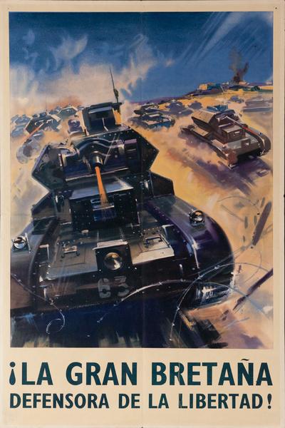 La Gran Bretaña, Defensora de la Libertad, tanks
