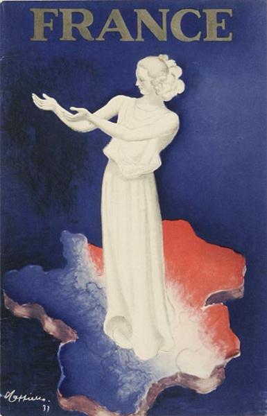 France Original Small Sized [[Cappiello]] Travel Poster