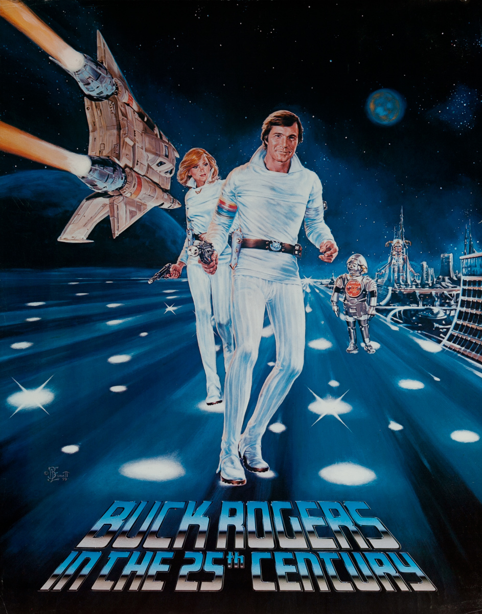 Buck Rogers in the 25th Century Original American TV Show Advertising Poster