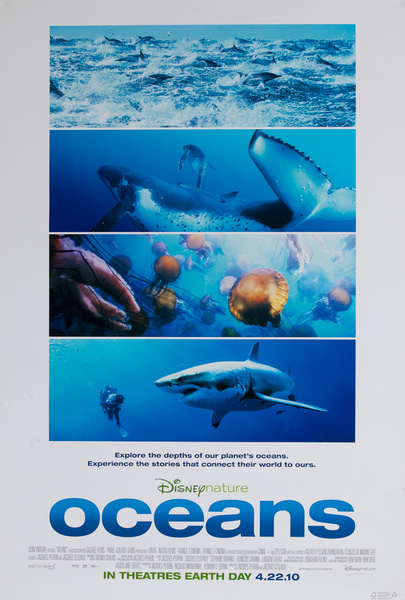 Disney Nature Oceans, Original Movie Poster