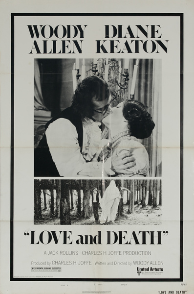 Love and Death Original American 1 Sheet Movie Poster