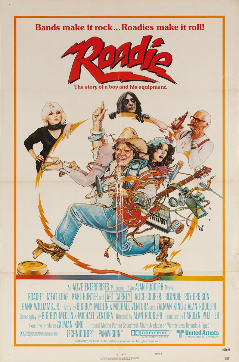 Roadie, Original American 1 Sheet Movie Poster