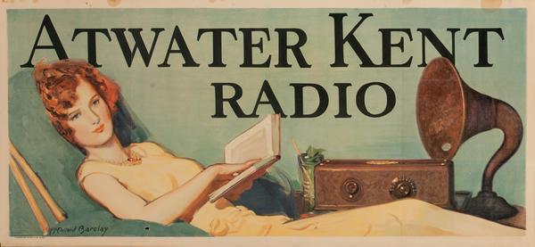 Atwater Kent Radio, Original American Advertising Poster