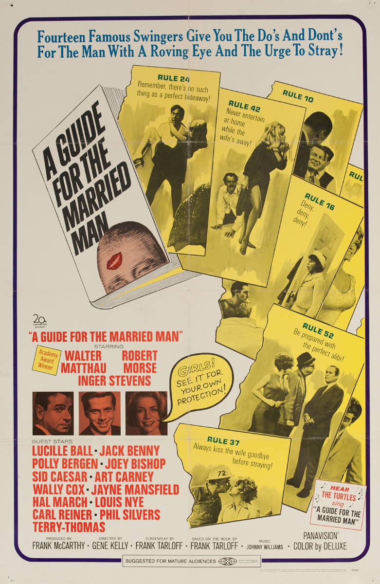 A Guide for the Married Man, Original 1 Sheet Movie Poster
