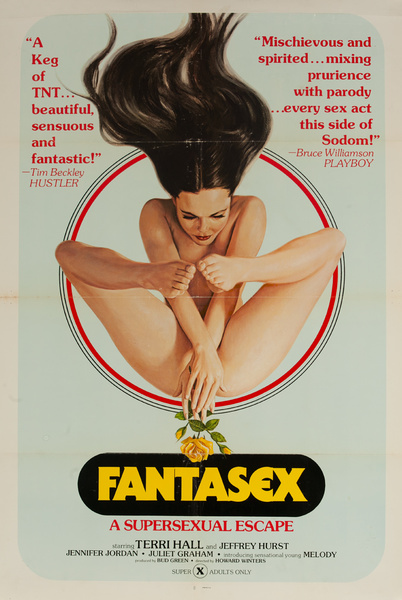 Original American X Rated Adult Movie Poster