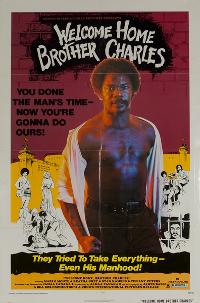 Welcome Home Brother Charles, Original American 1 Sheet Movie Poster