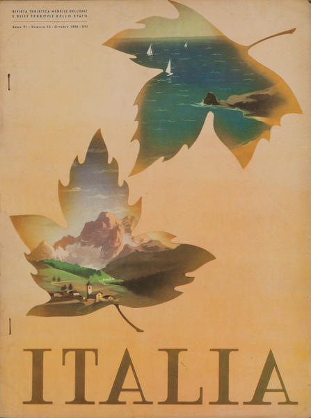 Italia Origina Travel Brochure Magazine