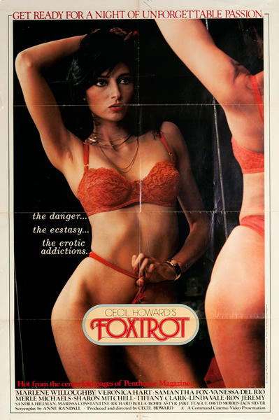 Foxtrot, Original One Sheet X Rated Movie Poster