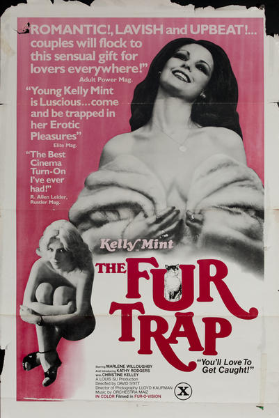 The Fur Trap, Original One Sheet X Rated Movie Poster