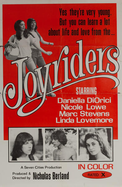 Joyriders, Original One Sheet X Rated Movie Poster