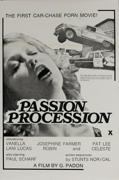Passion Procession, Original One Sheet X Rated Movie Poster