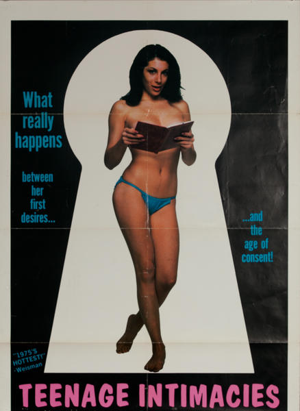 Teenage Intimacies, Original One Sheet X Rated Movie Poster
