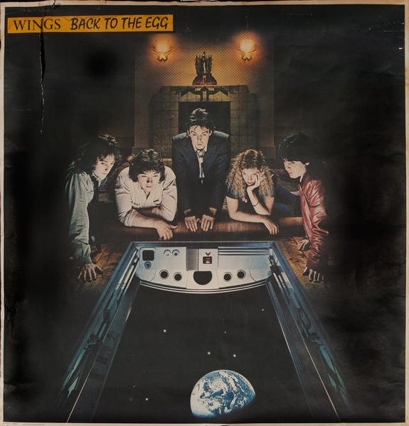 Wings, Back to the Egg, Original American Rock & Roll Poster