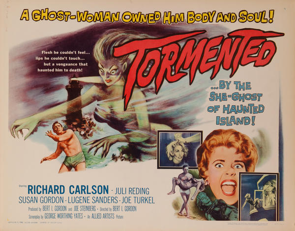 Tormented, Original American Horror Movie Poster