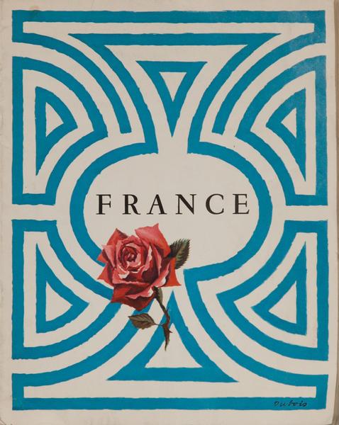 France, Travel Brochure, Rose
