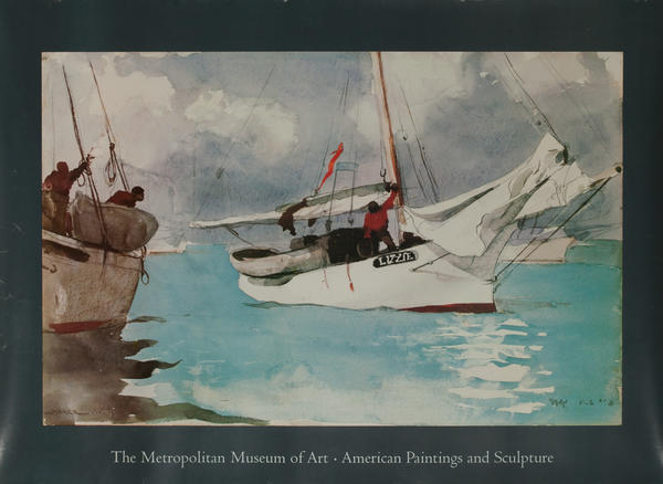 The Metropolitan Museum of Art American Paintings And Sculpture, Fishing Boats, Key West,
