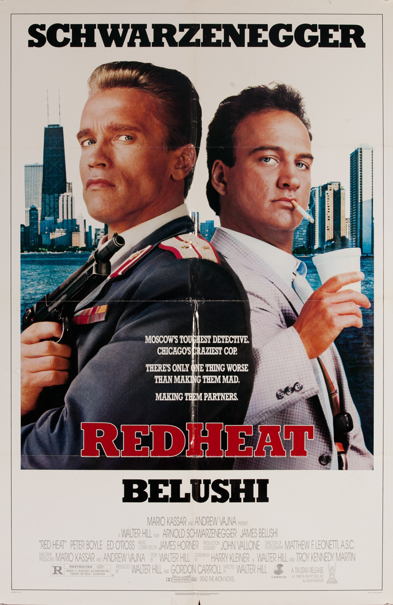 Red Heat ! Sheet Movie Poster