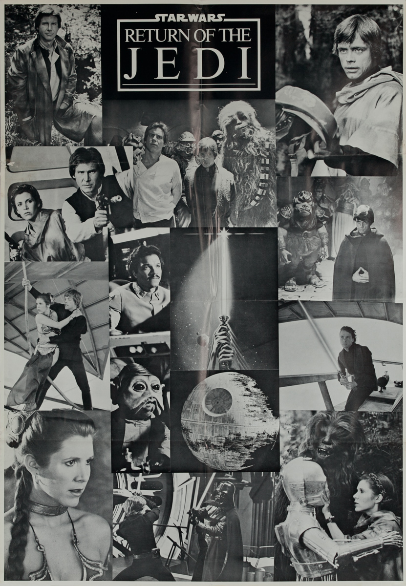 Star Wars: Episode VI - Return of the Jedi, 1 Sheet Movie Poster