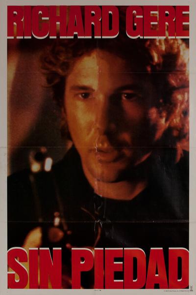 No Mercy (Sin Piedad) Original Spanish Language 1 Sheet Movie Poster