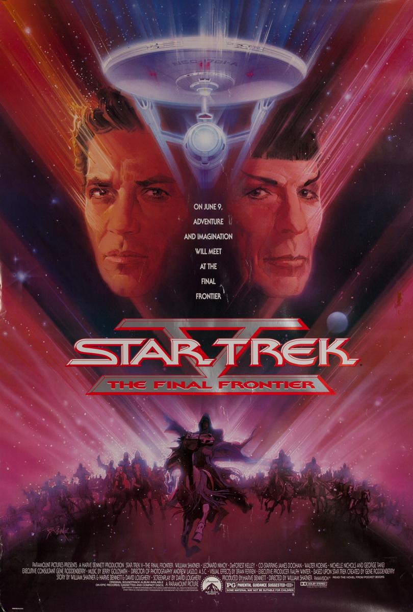 Star Trek V: The Final Frontier, 1 Sheet Movie Poster