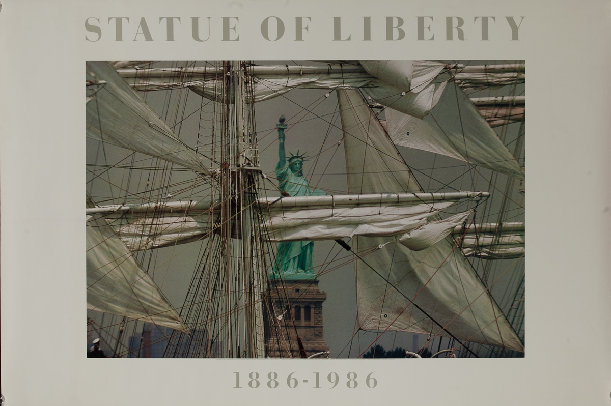 Statue of Liberty 1886-1986 Centennial Poster