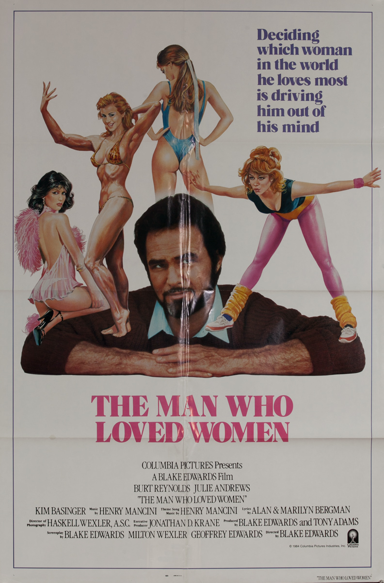 The Man Who Loved Women, 1 Sheet Movie Poster