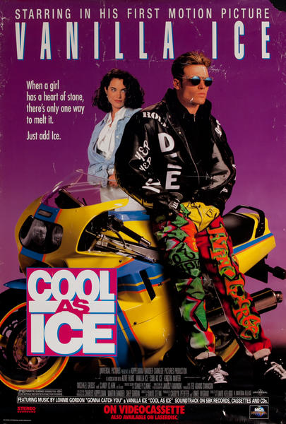 Cool as Ice, Original 1 Sheet Movie Poster