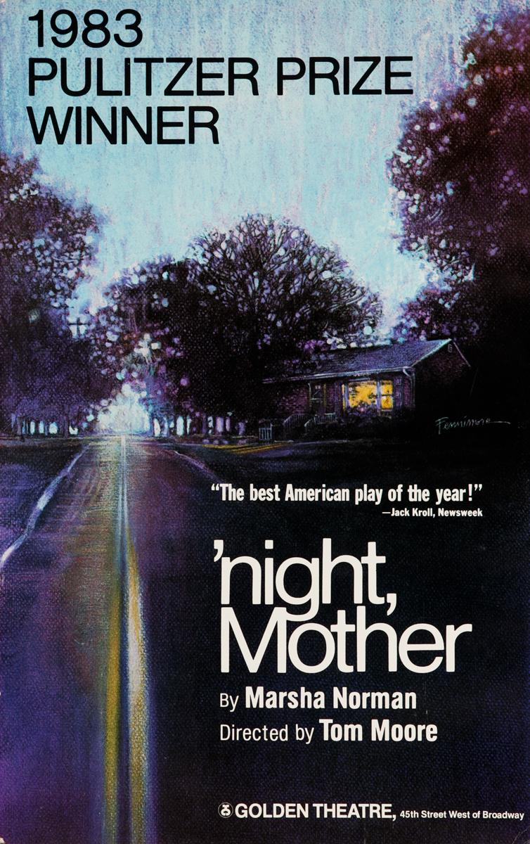 'night, Mother, Original American Theatre Poster