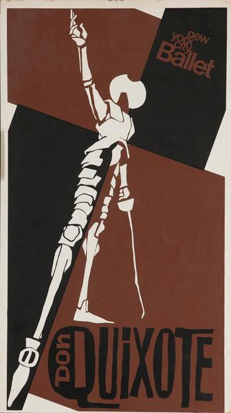 New York City Ballet, Don Quixote, Original Dance Poster