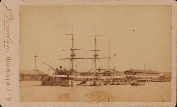 Danish CDV Sailing Ship