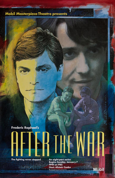 Mobil Masterpiece Theatre presents - After the War, Original Advertisng Poster