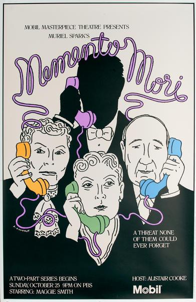 Mobil Masterpiece Theatre presents - Memento Mori, Original Advertisng Poster