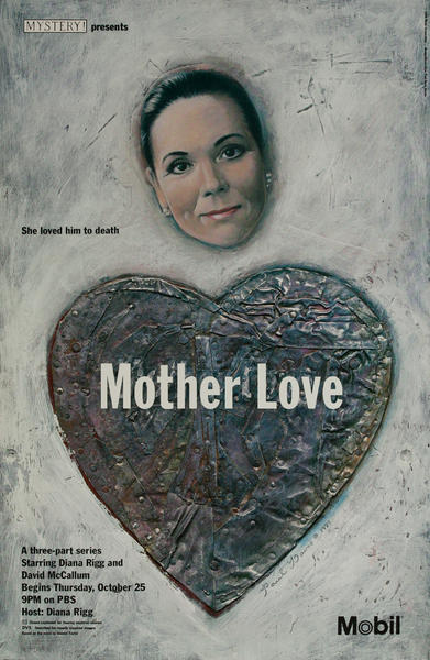 Mobil Mystery Presents - Mother Love, Original Advertising Poster