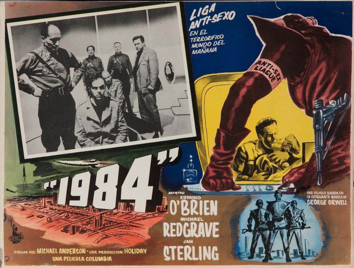 1984, Original Mexican Release Lobby Card