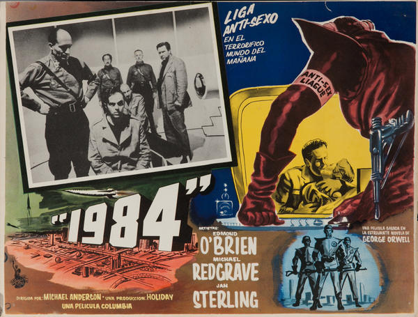 1984, Original Mexican Release Lobby Card