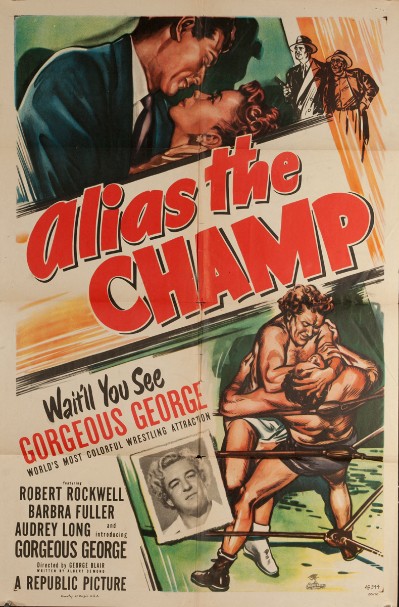 Alias the Champ, Original One Sheet Movie Poster