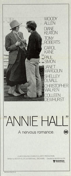 Annie Hall Original Movie Insert Poster