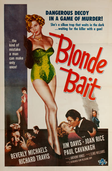 Blonde Bait Original 1 Sheet Movie Poster