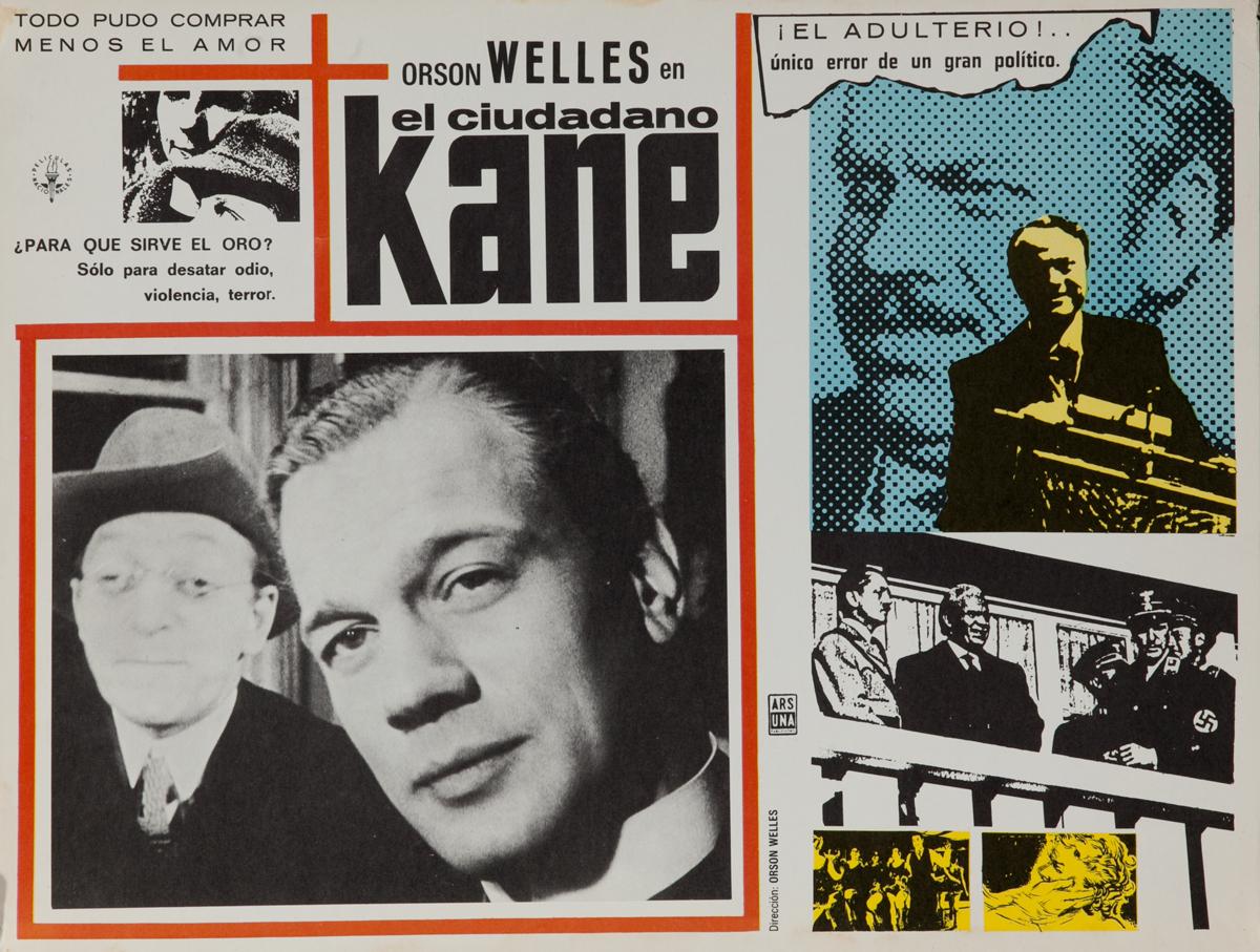 Citizen Kane Original Mexican Lobby Card