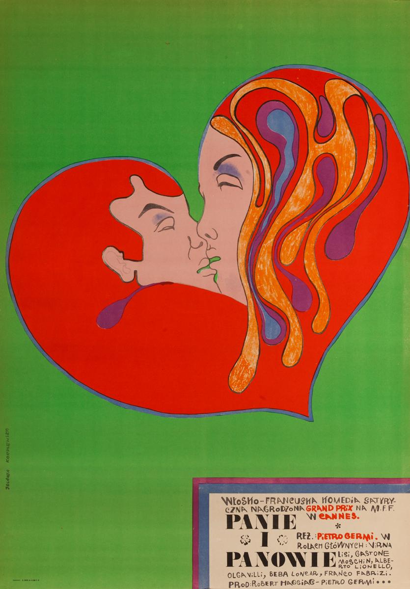 Panie i Panowie, Original Polish Theater Poster