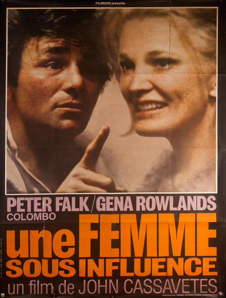 A Woman Under the Influence, French Movie Poster