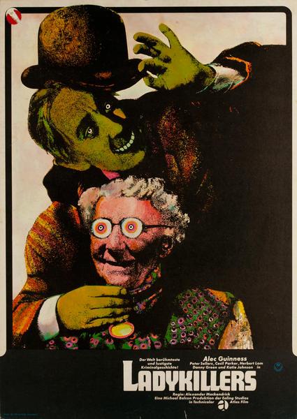 Ladykillers, Lady Killers, Original German Release Movie Poster