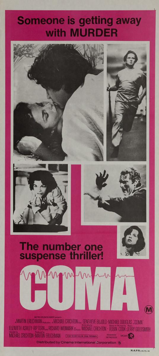Coma, Original American Insert Poster