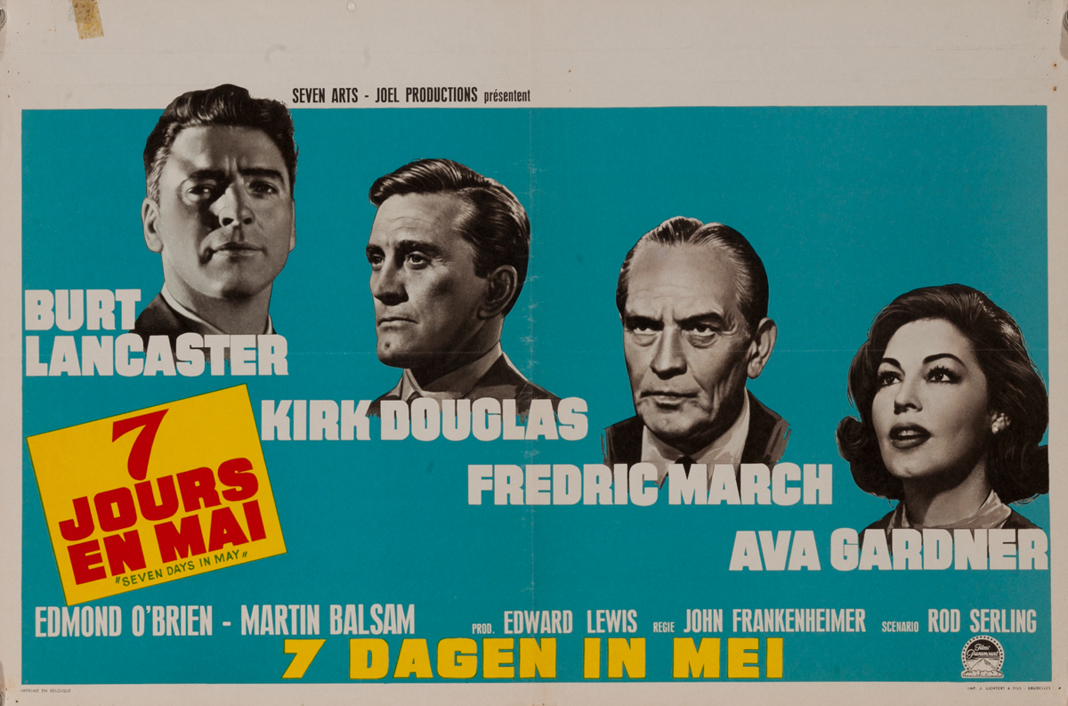 7 Days in May Original French Movie Poster